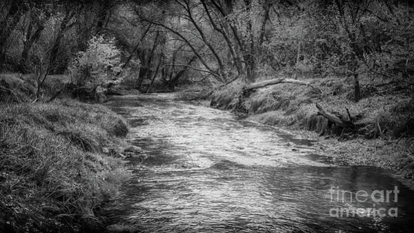 Photograph - A River Running Through by Natural Abstract Photography
