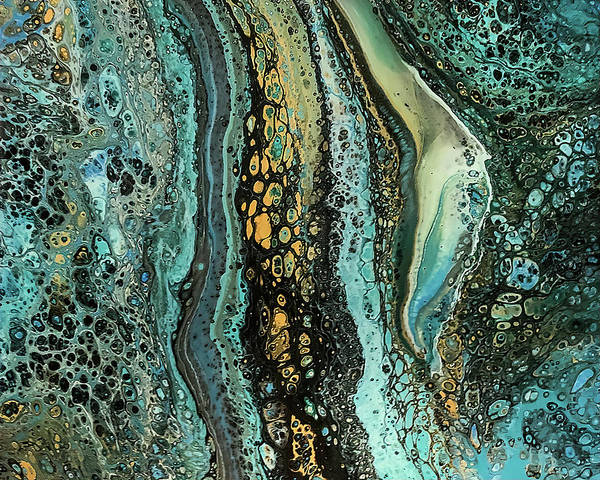 Painting - A River Runs Through It By Teresa Wilson by Teresa Wilson