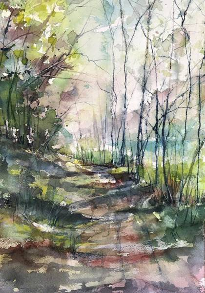 Painting - A Road Less Traveled by Robin Miller-Bookhout