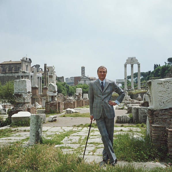 Suit Photograph - A Roman Prince by Slim Aarons