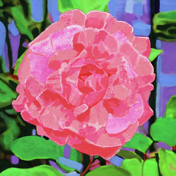 Painting - A Rose With Heart by Deborah Boyd