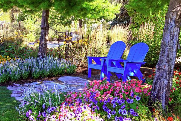 Photograph - A Royal Garden by Dawn Richards