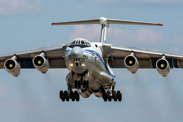 Wall Art - Photograph - A Russian Aerospace Forces Il-76md by Daniele Faccioli
