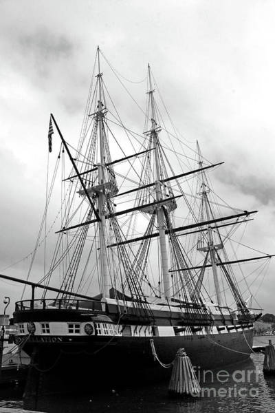 Photograph - A Sail Warship - Uss Constellation by Christiane Schulze Art And Photography