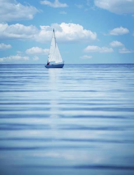 Kelowna Wall Art - Photograph - A Sailboat by Design Pics/kelly Redinger