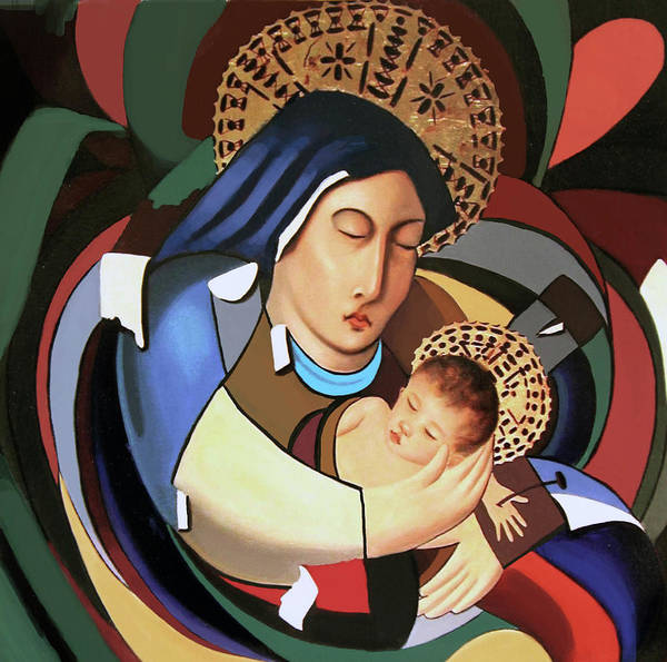 Wall Art - Painting - A Savior Is Born by Anthony Falbo
