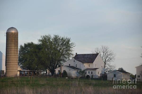 Photograph - A Serene Amish Homestead by Christine Clark