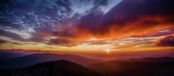 Wall Art - Photograph - A Shenandoah Sunrise by N P S Neal Lewis