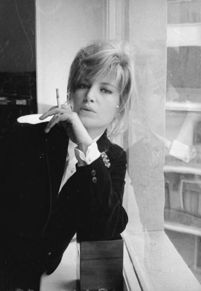 Italian Actress Wall Art - Photograph - A Smoky Star by Larry Ellis