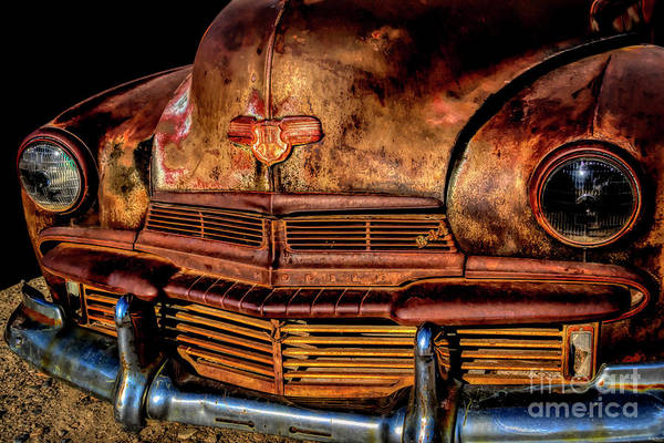 Photograph - A Solid Oldsmobile by Janice Pariza