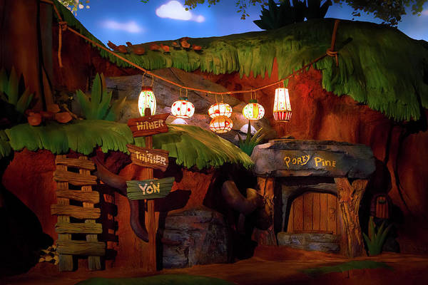Wall Art - Photograph - A Splash Mountain Adventure by Mark Andrew Thomas