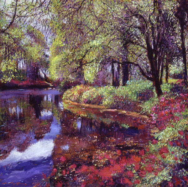 Painting - A Spring Morning by David Lloyd Glover