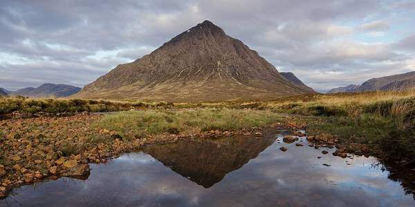 Photograph - A Still Early Morning In Glencoe by Stephen Taylor