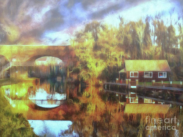 Photograph - A Stop Along The Wey by Leigh Kemp