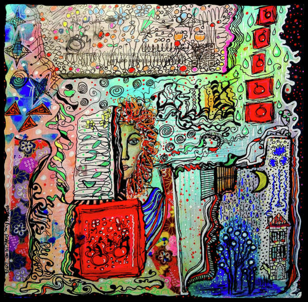 Mixed Media - A Story Waiting To Be Told by Mimulux patricia No