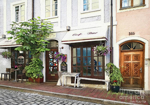 Wall Art - Photograph - A Street In Germany by Jutta Maria Pusl