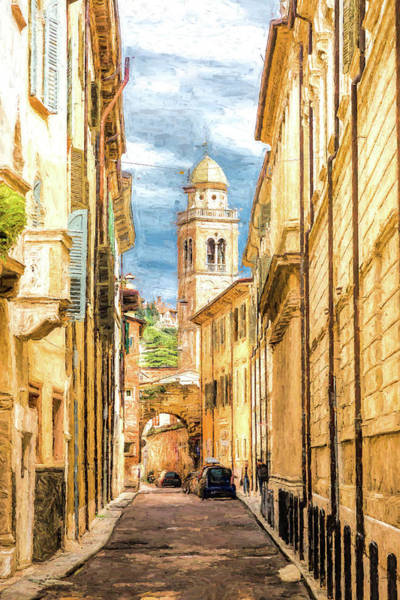 Wall Art - Photograph - A Stroll In Verona by W Chris Fooshee