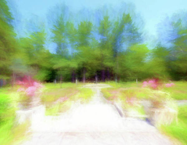 Wall Art - Digital Art - A Summer At Yaddo Xv by Tina Baxter