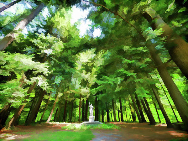 Wall Art - Digital Art - A Summer At Yaddo Xvi by Tina Baxter
