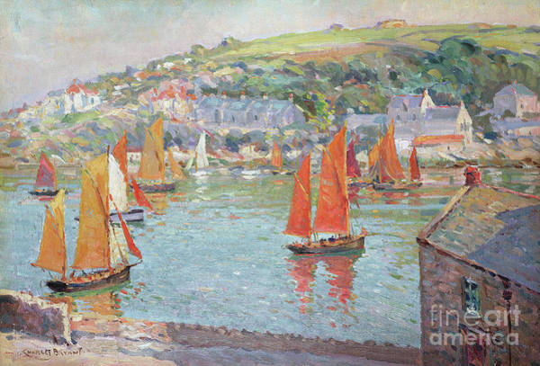 Wall Art - Painting - A Summer Day by Charles David Jones Bryant