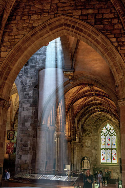 Wall Art - Photograph - A Sunbeam In St Giles by W Chris Fooshee