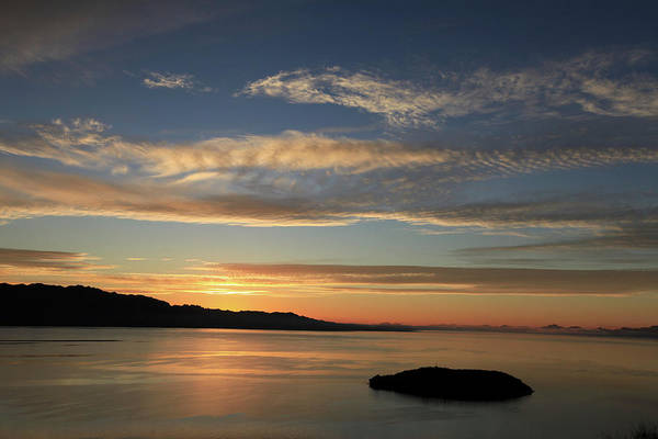 Photograph - A Sunrise On The Sea Of Cortes by Darrel Giesbrecht