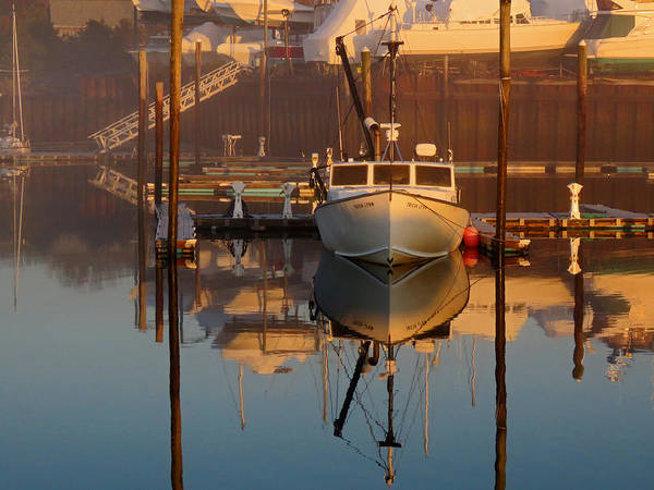 Wall Art - Photograph - A Touch Of Fog - Sesuit Harbor by Dianne Cowen