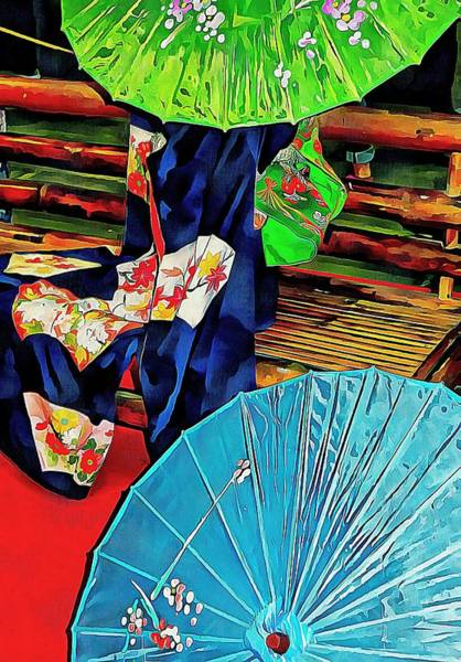 Photograph - A Touch Of Japan by Dorothy Berry-Lound