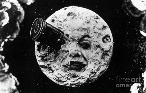 Wall Art - Photograph - A Trip To The Moon, 1902  by French School