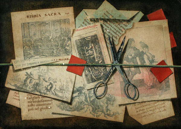 Pince Nez Painting - A Trompe L'oeil With Pince-nez, Pages From A Book And A Quill Pen, A Similar Subject , 1792 by Michele Bracci