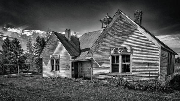 Photograph - A Two Room Schoolhouse by Susan Rissi Tregoning