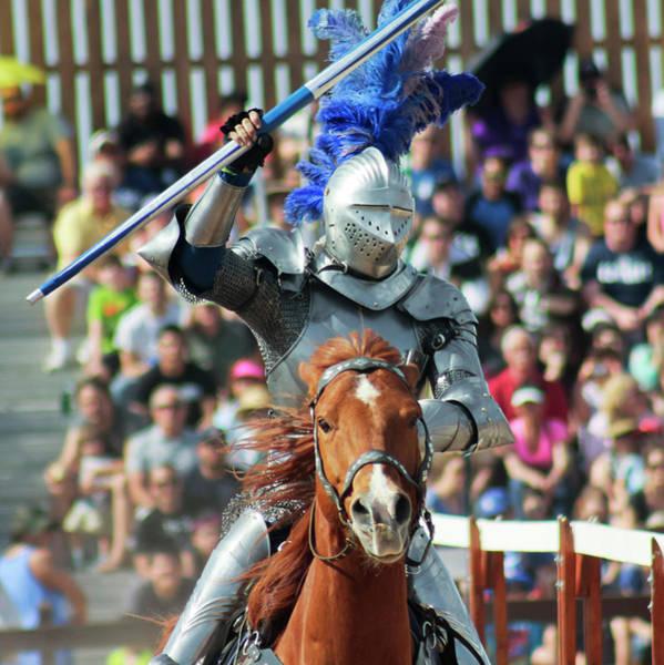 Arizona Renaissance Festival Wall Art - Photograph - A Victorious Knight At The Arizona Renaissance Festival by Derrick Neill
