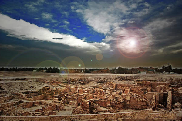 Bahrain Photograph - A View From Bahrain Fort by Copyright© Sniperamatz / Raffy Jaravata Dulay  Image