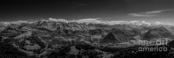 Wall Art - Photograph - A View From Rigi by Erik Brede