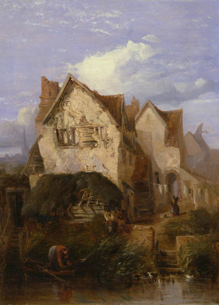 Painting - A View Near Norwich by Thomas Lound