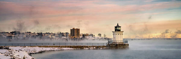 Photograph - A View Of Bug Light And Portland by Darylann Leonard Photography