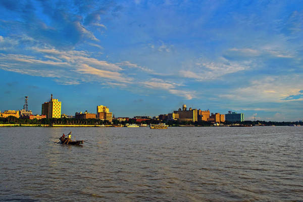 Kolkata Photograph - A View Of Kolkata  Calcutta From River by Creativity Has No Limit. An Image Can Tell Million Words.