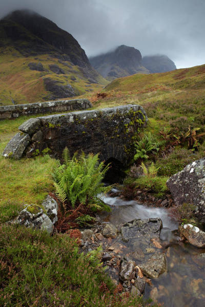 Wall Art - Photograph - A View Of The Three Sisters Of Glencoe by Jon Gibbs / Robertharding