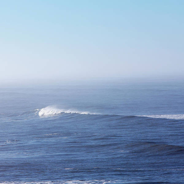 Washington Square Park Photograph - A View Over The Ocean, And A Wave With by Mint Images - Paul Edmondson