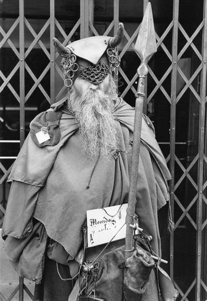 Composer Photograph - A Viking On Sixth Avenue by Fred W. McDarrah