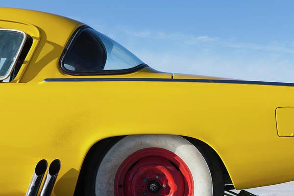 Photograph - A Vintage Studebaker Race Car,rear by Mint Images - Paul Edmondson