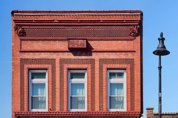 Wall Art - Photograph - A. W. Clarke Bank Building - Papillion by Nikolyn McDonald