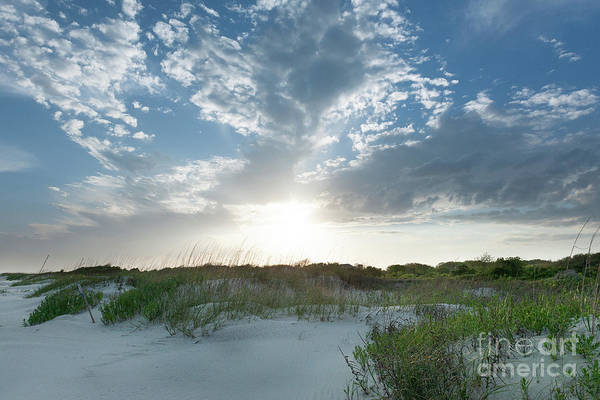 Photograph - A Walk Along The Beach - Sullivan's Island South Carolina by Dale Powell