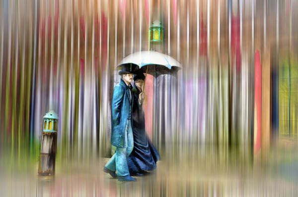 Wall Art - Photograph - A Walk In The Rain by Bill Cannon
