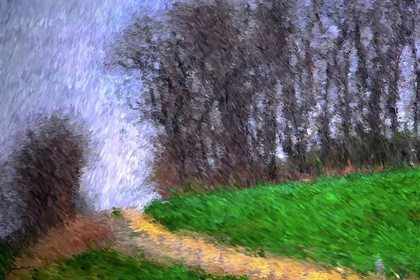 Painting - A Walk Through Nature by Gerlinde Keating - Galleria GK Keating Associates Inc