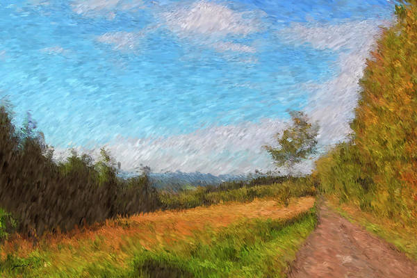 Painting - A Walk Through The Countryside by Gerlinde Keating - Galleria GK Keating Associates Inc