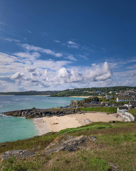 Photograph - A Walk To Porthgwidden Beach - St Ives Cornwall by Eddy Kinol