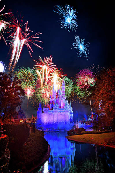 Wall Art - Photograph - A Walt Disney World New Year by Mark Andrew Thomas