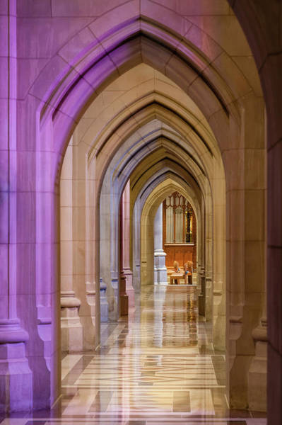 Photograph - A Window On Cathedral Arches by Todd Henson