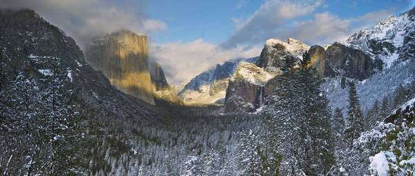 Wall Art - Photograph - A Winter Storm Clears Over El Capitan by Enrique R. Aguirre Aves